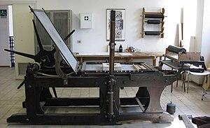 Litography printing press.