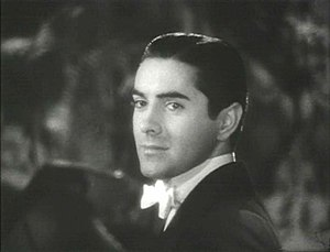Screenshot of Tyrone Power from the trailer fo...