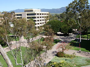 UCSB Courtyard