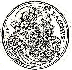 English: Dionysus is equated with both Bacchus...