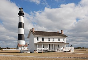 English: Bodie Island Lighthouse, Outer Banks,...