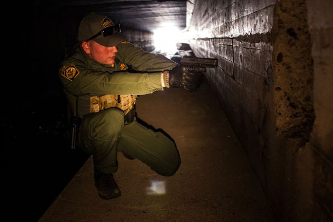 Border Patrol Agent in Nogales, Arizona