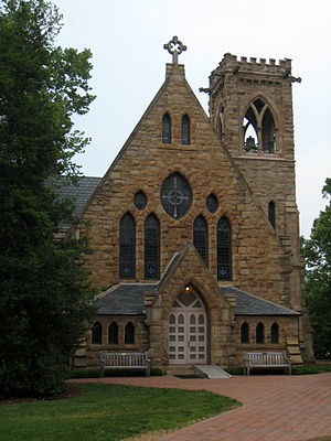 Chapel (built in 1885-1890) of the University ...