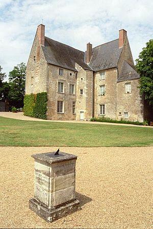 Vista del Château de Saché