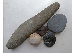English: Five Pebbles