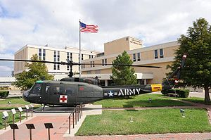 English: photo of Darnall Hospital, Fort Hood, TX