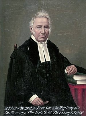 John Dunmore Lang, Australian politician and c...