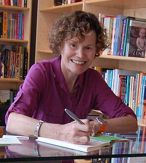 Photo of Judy Blume in 2009