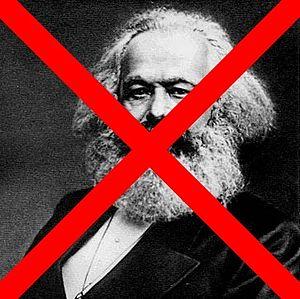 No Karl Marx