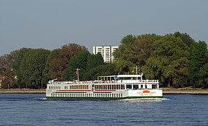 Deutsch: Flusskreuzfahrtschiff Prinses Juliana...
