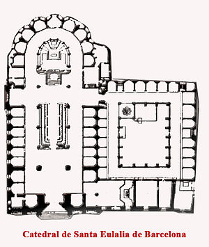 La Catedral de la Santa Cruz y Santa Eulalia (...