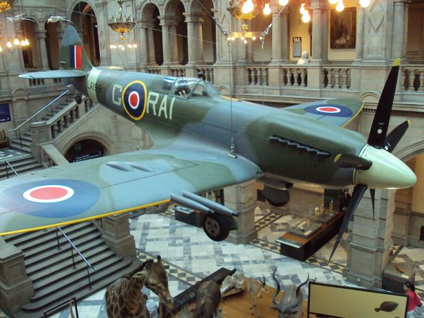 Spitfire, Kelvingrove Museum, Glasgow - DSC06232