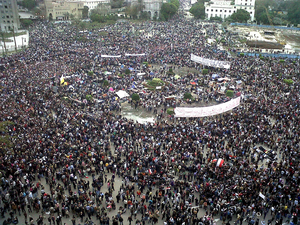 English: 2011 Egyptian protests: Friday of Dep...