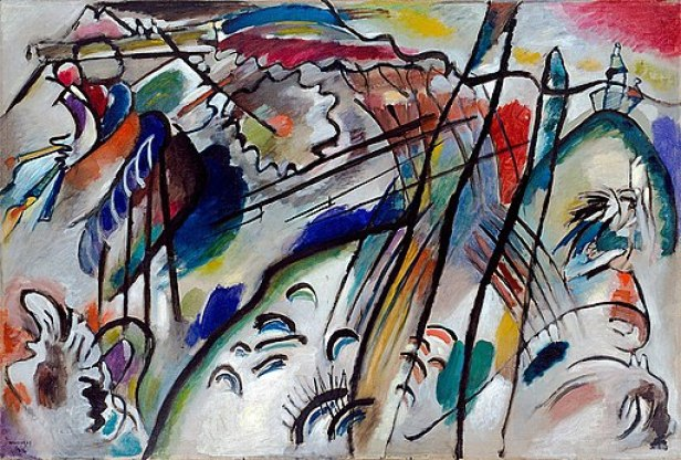 Vasily Kandinsky Improvisation 28 (second version)