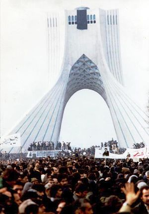 Asura demonstration in freedom square, Tehran,...