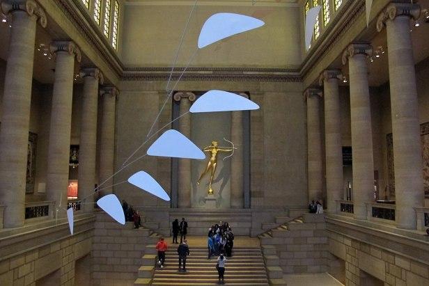 Atrio del philadelphia museum of art