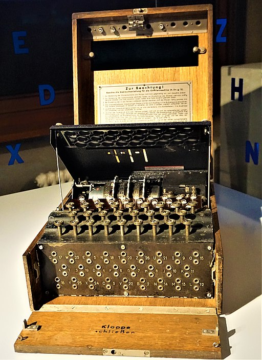 Enigma Machine - Spy Museum Berlin