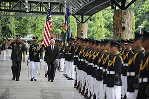 English: U.S. Defense Secretary Robert M. Gate...