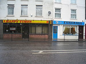 Happy Times Funerals Local shops on the A20. P...