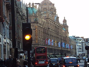 Harrods department store, Brompton Road, Knigh...