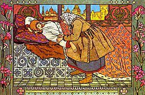 Иллюстрация к сказке «Перышко Финиста Ясного С...