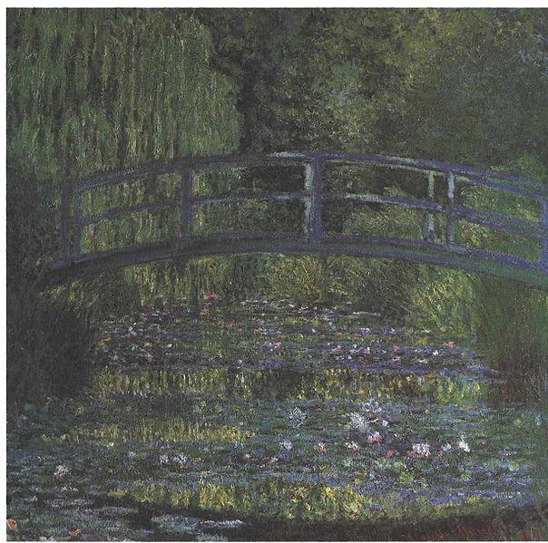 File:Monet - Die japanische Brücke im grünen Farbklang.jpg
