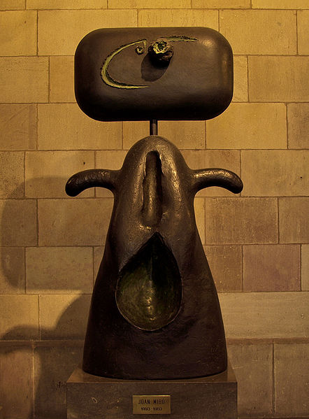 Joan Miró - 1983, sculpture