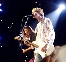 Photo représentant Kurt Cobain.