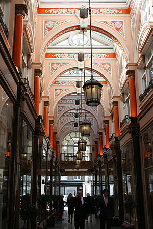 English: The Royal Arcade (completed in 1880),...