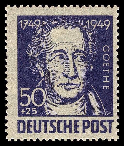 Datei:SBZ 1949 237 Johann Wolfgang von Goethe.jpg