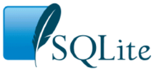 The SQLite logo as of 2007-12-15