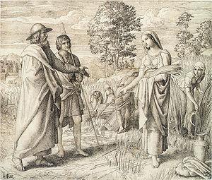 Ruth und Boas, 1825