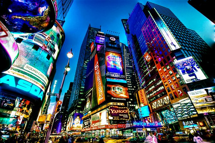 Times Square, New York City (HDR)