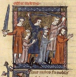 Martyre de saint Vit et de saint Modeste (Mart...