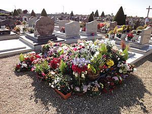 Français : Enterrement à