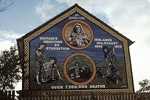 Ireland's Holocaust mural on the Ballymurphy R...