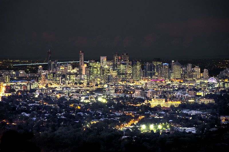 File:Brisbane CBD at Night.jpg