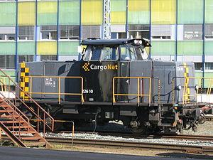 A diesel shunter type CargoNet Skd 226 10 at T...