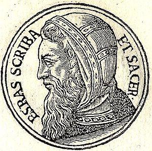 Esdras-Ezra was a Jewish priestly scribe who l...