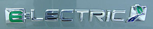 English: Ford badging for the Focus Electric (...