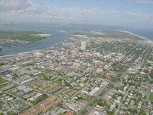 Survol de Galveston (Texas) Licence Catégorie:...