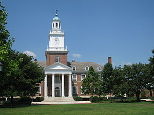 English: Gilman Hall, Johns Hopkins University...