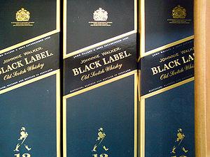 Johnnie Walker Black Label (12 years Scotch Wh...
