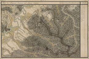 Crihalma în Harta Iosefină a Transilvaniei, 1769-1773