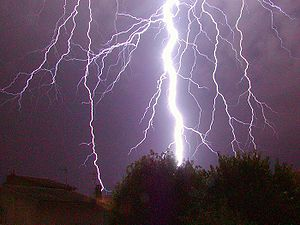 Lightning is both necessary and sufficient for...