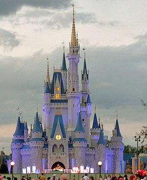 Cinderella Castle at the Magic Kingdom, Walt D...