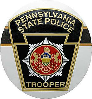 English: Pennsylvania State Police patch Portu...
