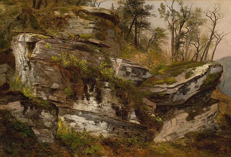 File:Rocky Cliff Asher Durand.jpeg