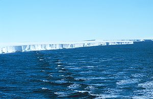 English: Ross Ice Shelf, 1997 The Ross Ice She...