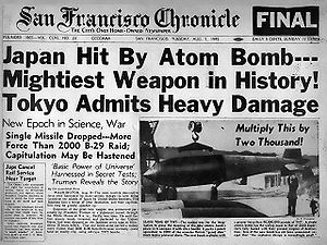 San Francisco Chronicle August 7, 1945